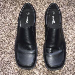 SmartFit Black Dress Shoes
